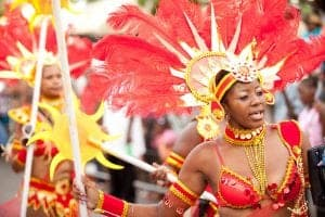 Spicemas carnival on holiday in Grenada