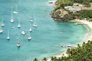 Antigua, from St John's - English Harbour