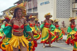 Saint Lucia Carnival Editorial Only
