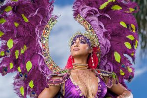 Antigua Carnival party