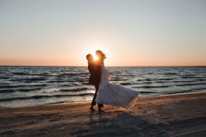 Getting married abroad on the beach