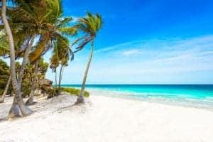 Riviera Maya - paradise beaches in Quintana Roo, Mexico - Caribbean coast