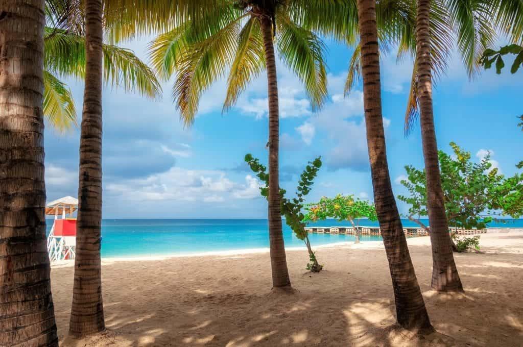Montego bay, jamaica, beach