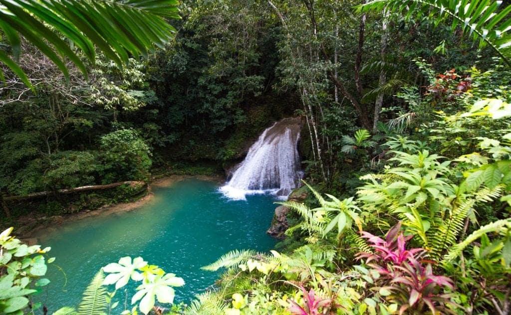 Jamaica holiday - waterfall