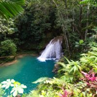 Jamaica waterfall