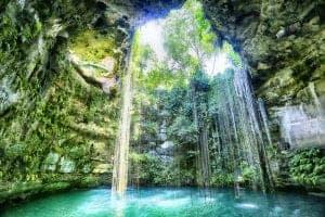 cenote, Il Kil, Cancun, Mexico