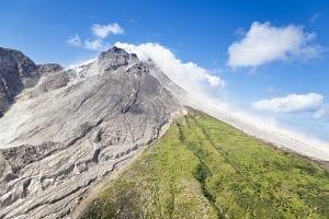 Montserrat volcano