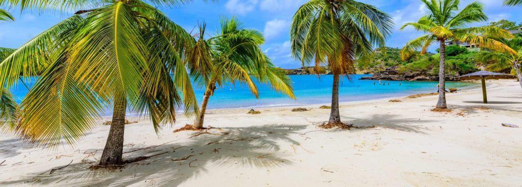 Antigua beach holiday