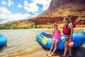 colorado river, rafting, las vegas, usa