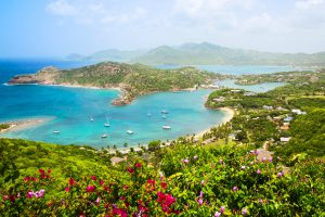 antigua, nelsons harbour, sailing