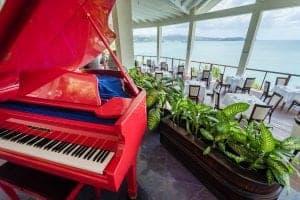 calabash cove st lucia hotel - piano