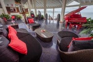 calabash cove st lucia hotel - restaurant 2