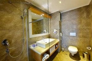 Jasmine Beach Hotel - Bodrum, Turkey - bathroom