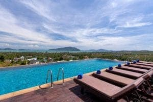 Phuket Thailand -The View Rawada Resort & Spa - pool