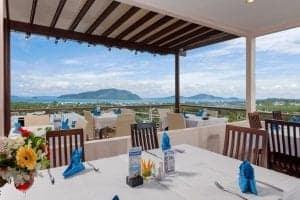 Phuket Thailand -The View Rawada Resort & Spa - restaurant