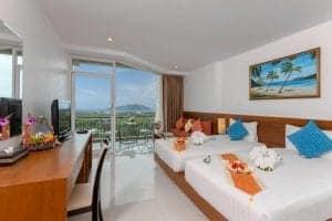 Phuket Thailand - The View Rawada Resort & Spa - room