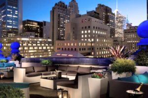 Roosevelt Hotel New York - Roof top bar 1