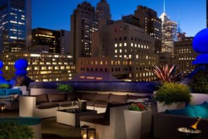 Roosevelt Hotel New York - Roof top bar