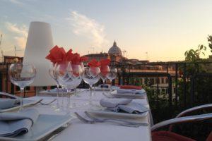 The Orange Hotel - Rome roof