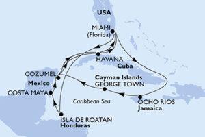 Caribbean and cuba cruise deal
