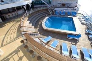 p&o ventura cruise - pool