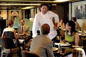 p&o ventura cruise - restaurant