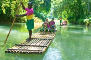 rafting river martha brae jamaica