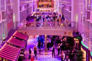 Royale Promenade from Forward Atrium - Deck 7 Forward Independence of the Seas - Royal Caribbean International