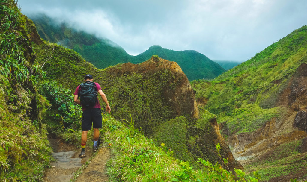 Hiking on holiday in Dominica