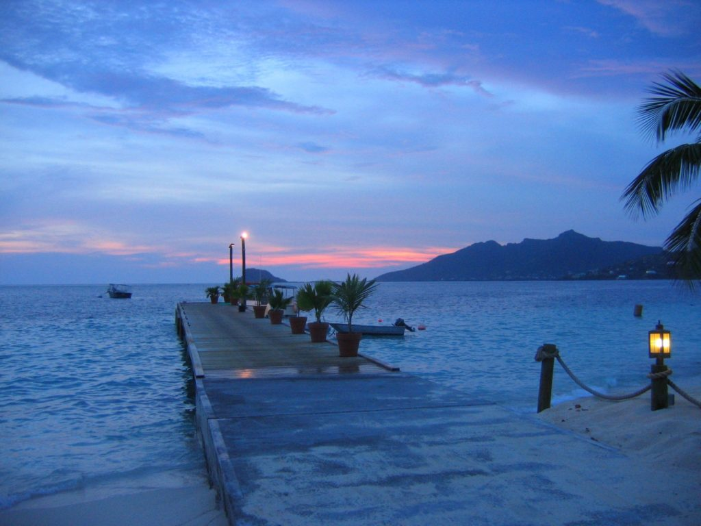 Sunset on Palm Island - Saint Vincent And The Grenadines