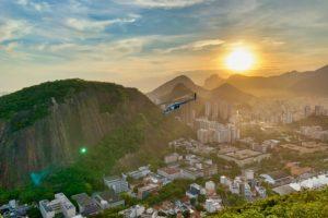 Brazil holiday ariel view