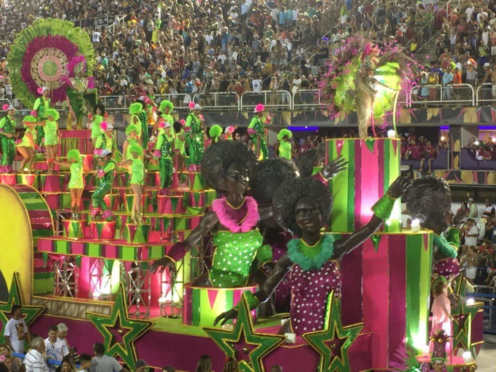 Samba competition at Rio Carnival