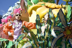 Mardi Gras Carnival in New Orleans