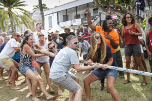 English Harbour Antigua Rum race day,prizegiving