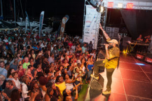 Antgua Sailing Week reggae party