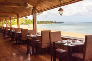 Dining beach - Starfish - Tobago