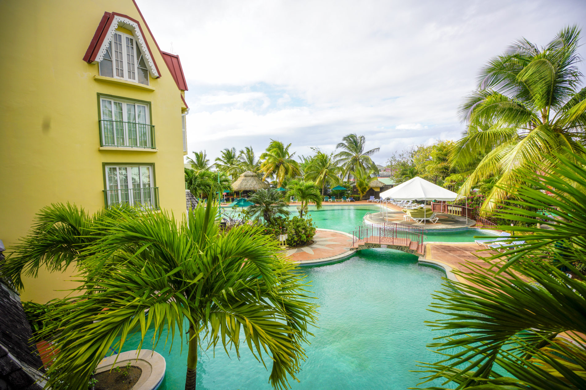 Coco Palm Resort, St Lucia