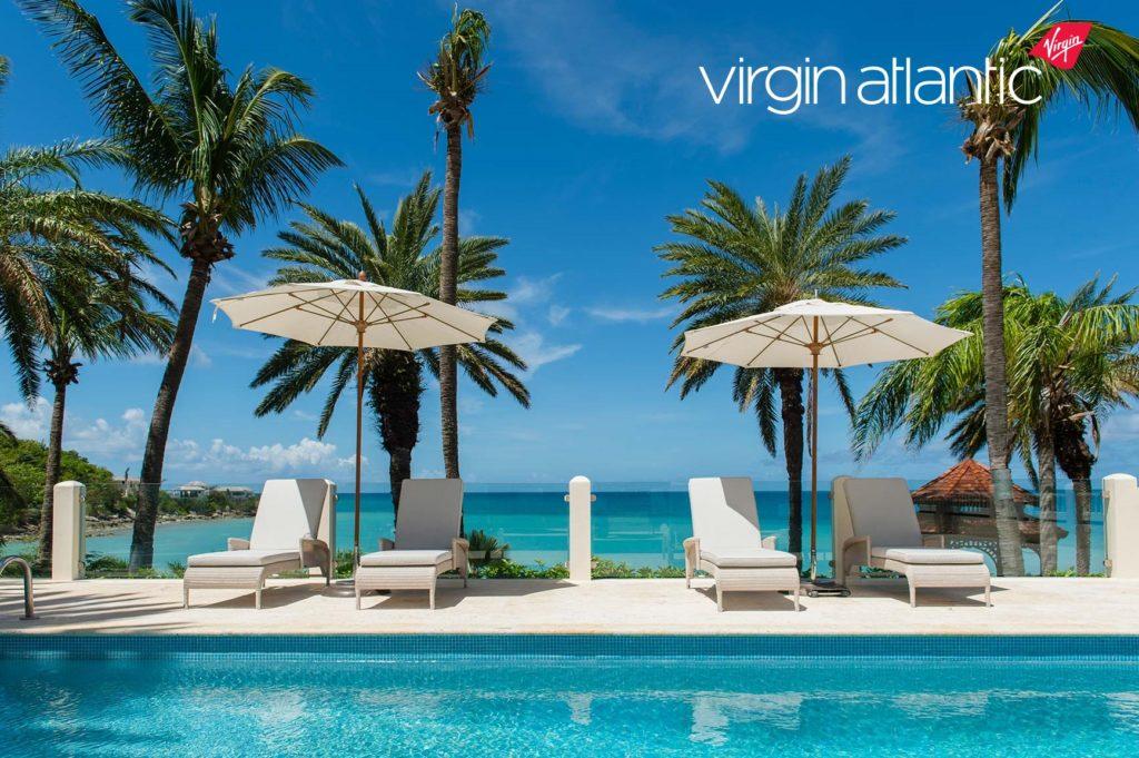 Blue Waters Resort Antiuga holiday pool view