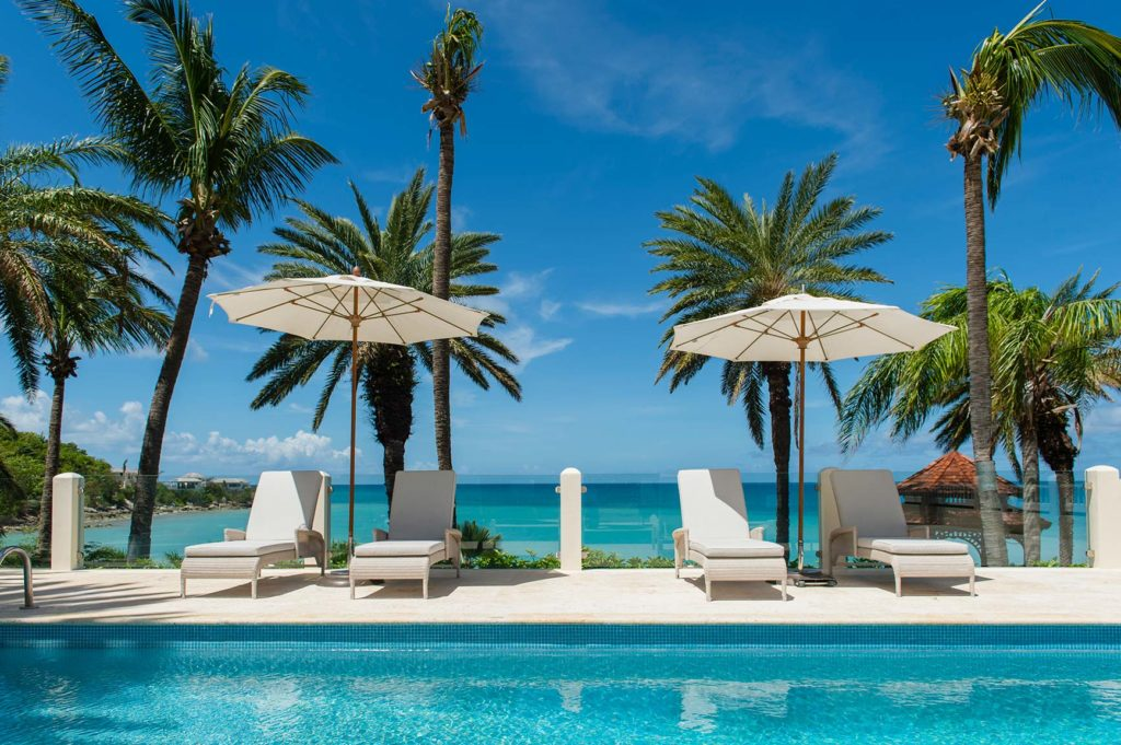 Bluewaters Resort Antigua pool view