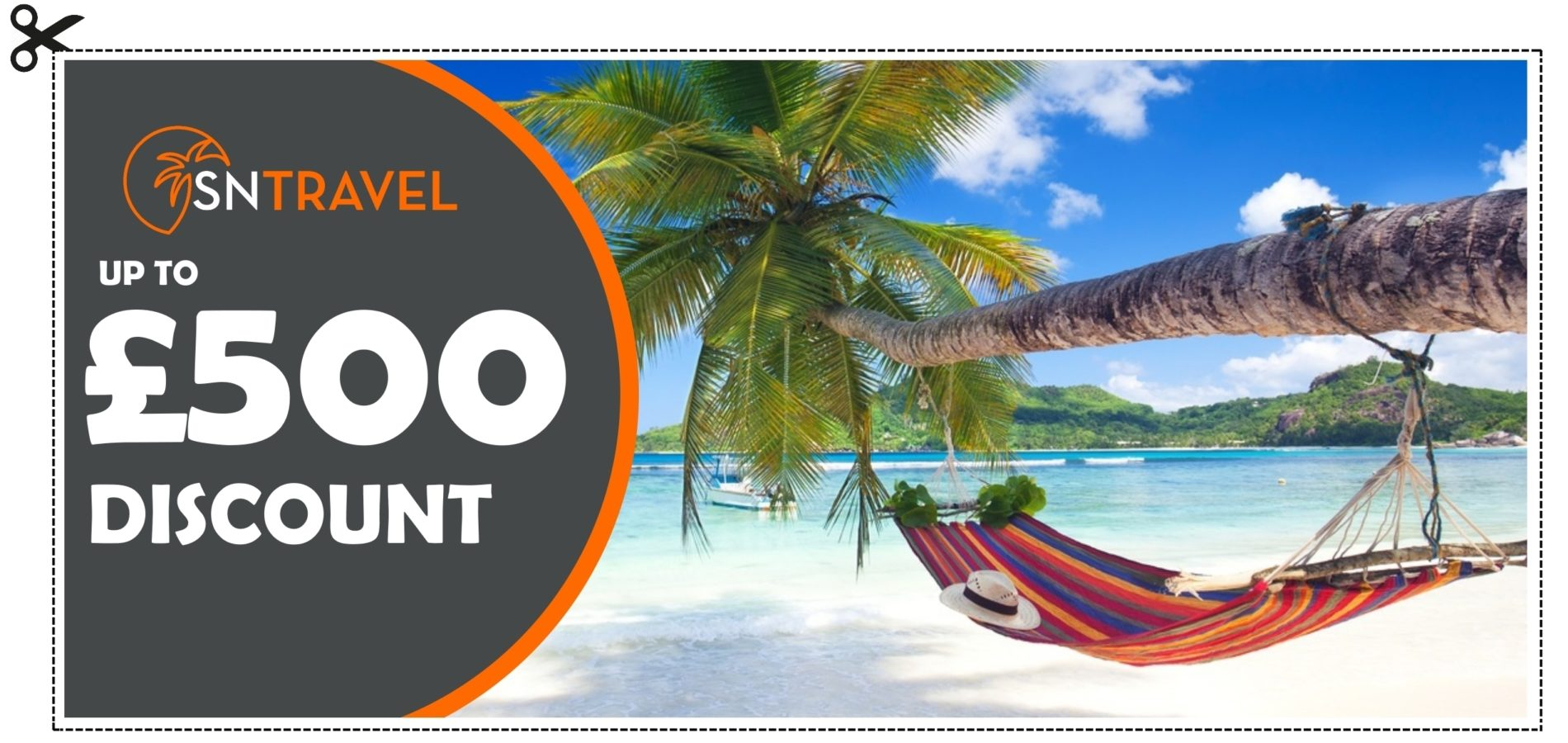 £500 travel voucher