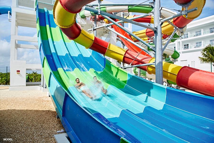 Water slide - Riu, Ocho Rios - Jamaica