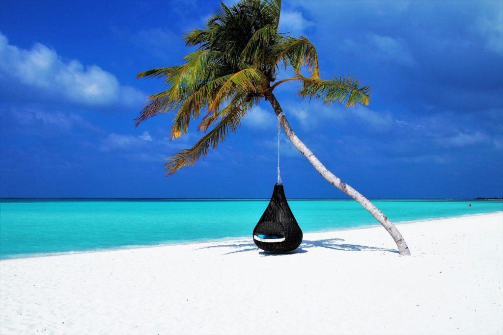 Maldives beach holiday