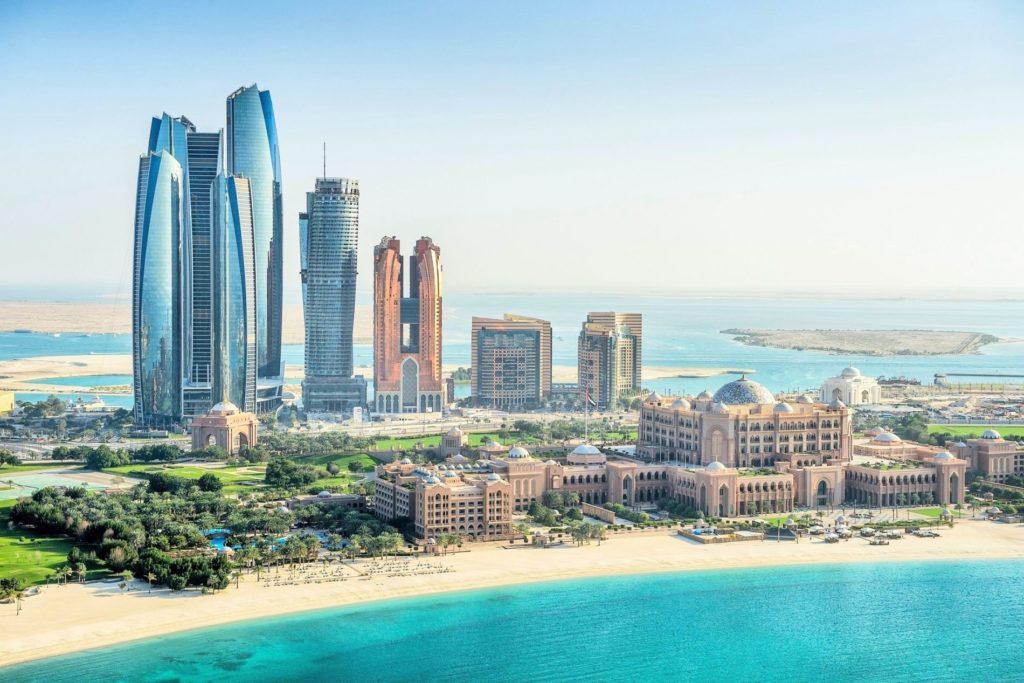 Aerial view - Abu Dhabi
