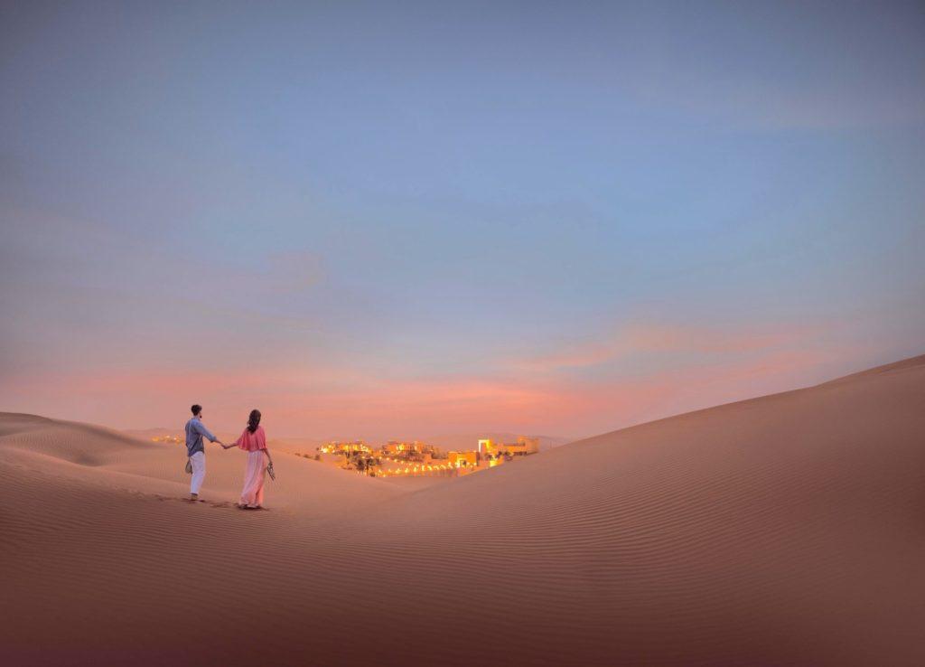 Qasr AlSarab Desert Safari in the sand dunes