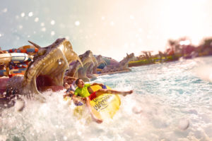 Yas Island water world - Abu Dhabi