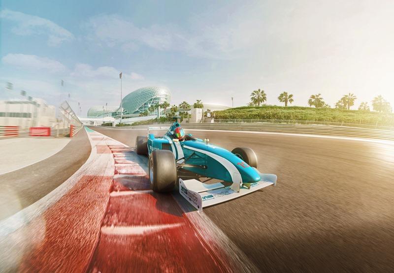 F1 Race track Abu Dhabi